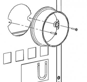 Anschlußstutzen La Nordica für externe Verbrennungsluftzufuhr Ø 120 mm