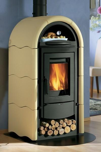 kaminofen la nordica stefany keramik vanille 9 kw bei. Black Bedroom Furniture Sets. Home Design Ideas