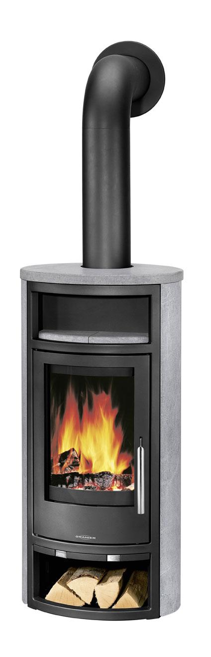 kaminofen oranier polar 4 raumluftunanh ngig speckstein schwarz 5kw bei. Black Bedroom Furniture Sets. Home Design Ideas