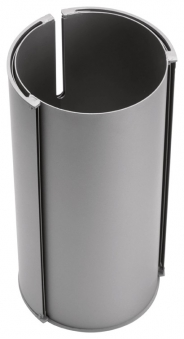 Kaminofen Oranier Polar Eck raumluftunabhängig Stahl gussgrau 6,5kW Bild 2
