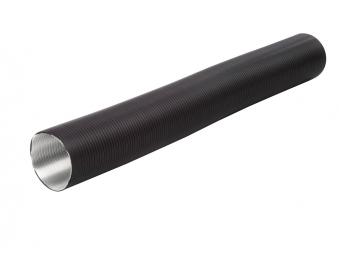 Oranier Alu-Flexrohr für externe Luftzufuhr schwarz Länge 60-150cm Bild 1