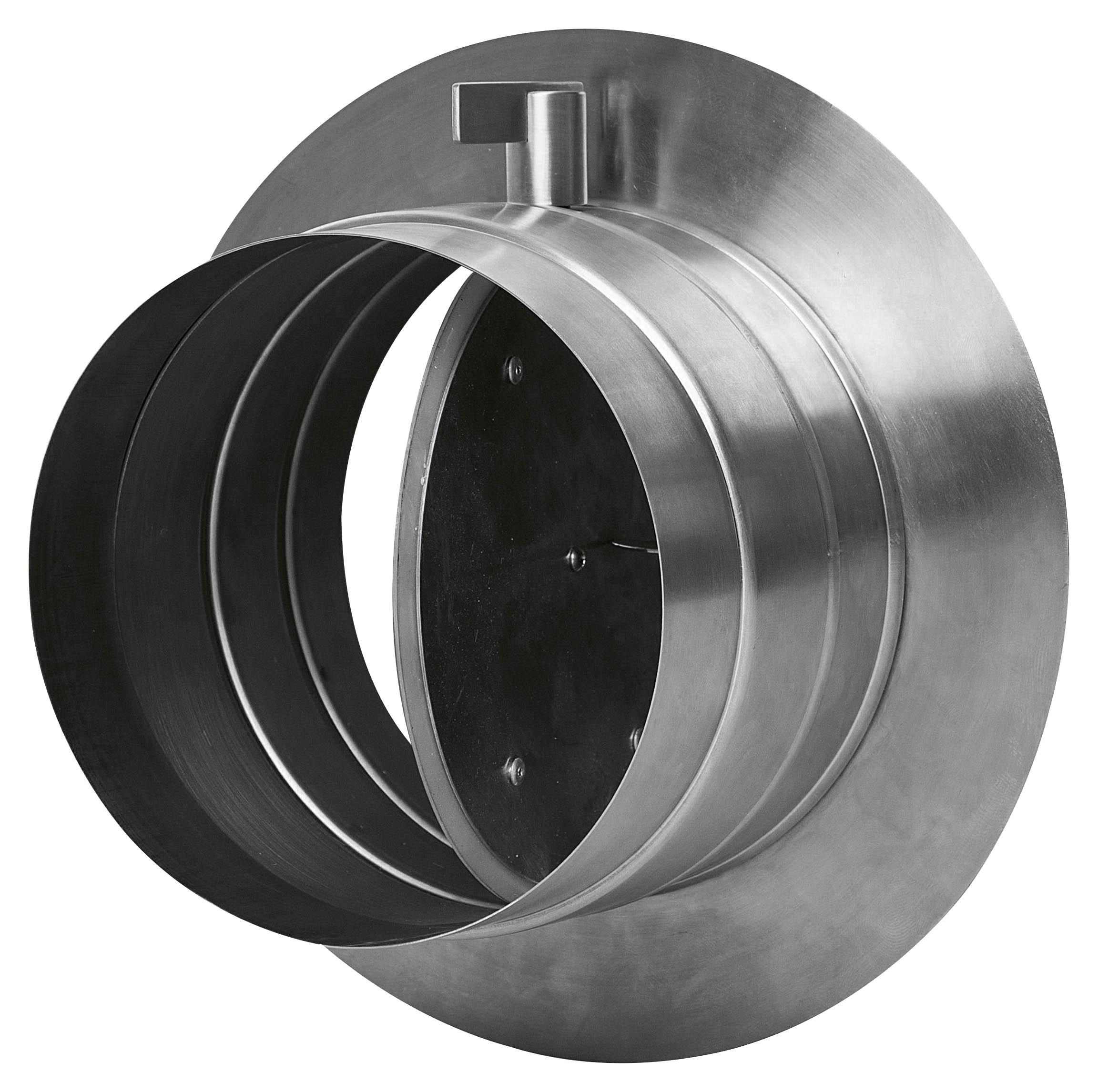 Oranier Durchführung Kamin externe Luftzufuhr mit Absperrklappe Bild 1