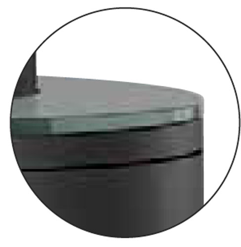 kaminofen justus faro w raumluftunabh ngig schwarz glas top 7kw bild. Black Bedroom Furniture Sets. Home Design Ideas