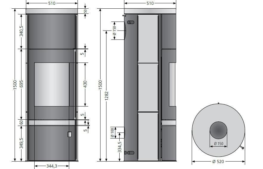 kaminofen justus faro w raumluftunabh ngig schwarz kalkstein 7kw bild 3. Black Bedroom Furniture Sets. Home Design Ideas