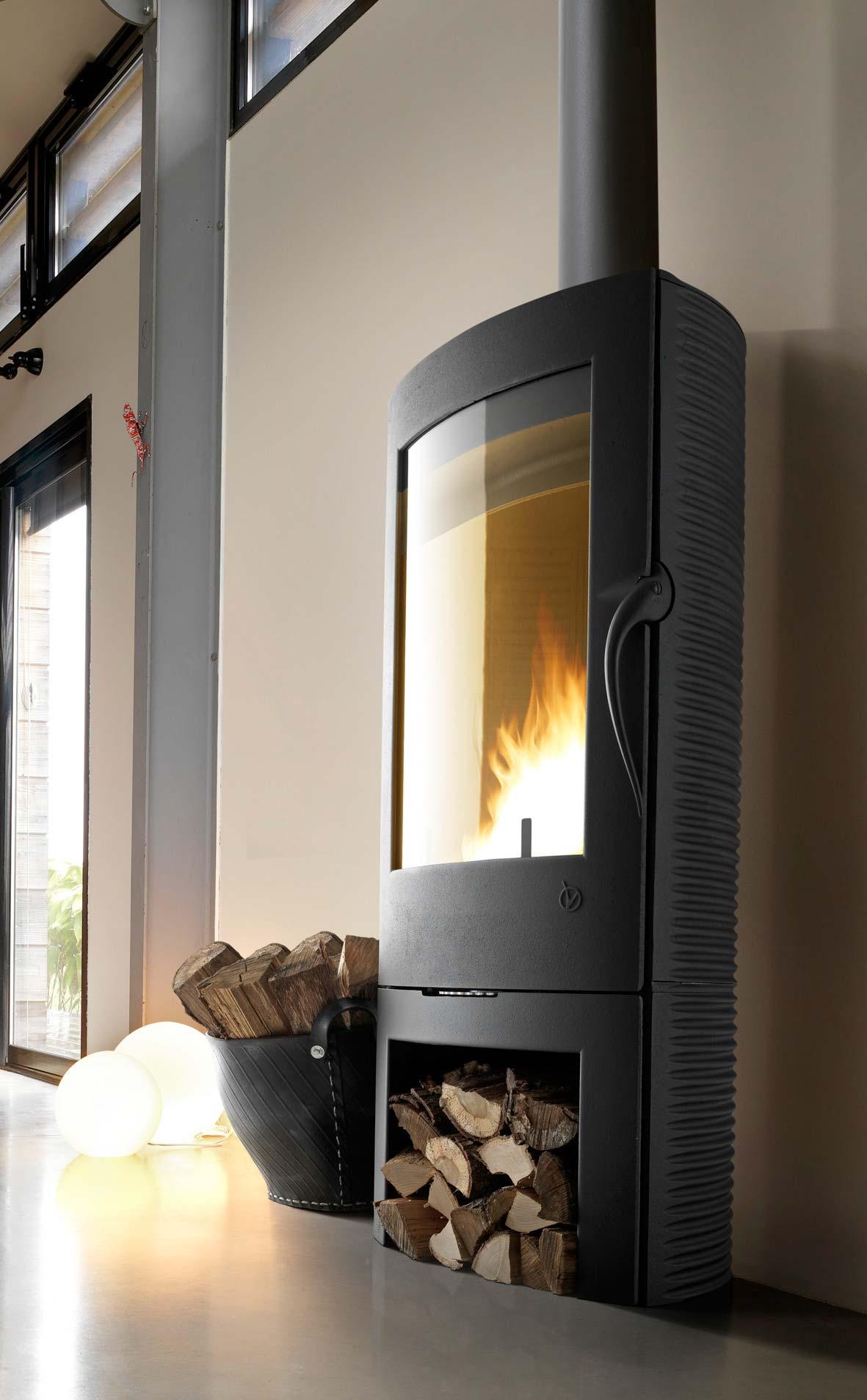 kaminofen wamsler kf 188 arles guss grau 10 kw bei. Black Bedroom Furniture Sets. Home Design Ideas