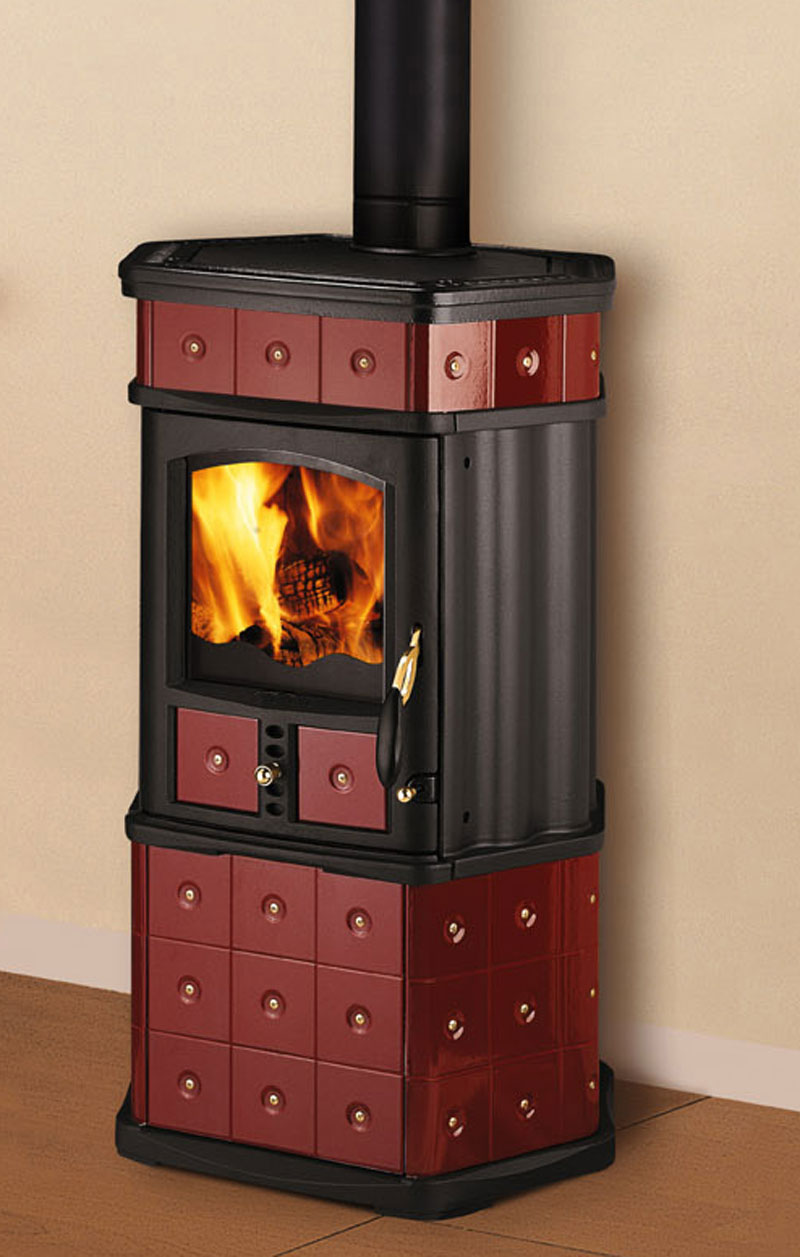 kaminofen wamsler kf 188 mona keramik bordeaux 5 8kw bei. Black Bedroom Furniture Sets. Home Design Ideas
