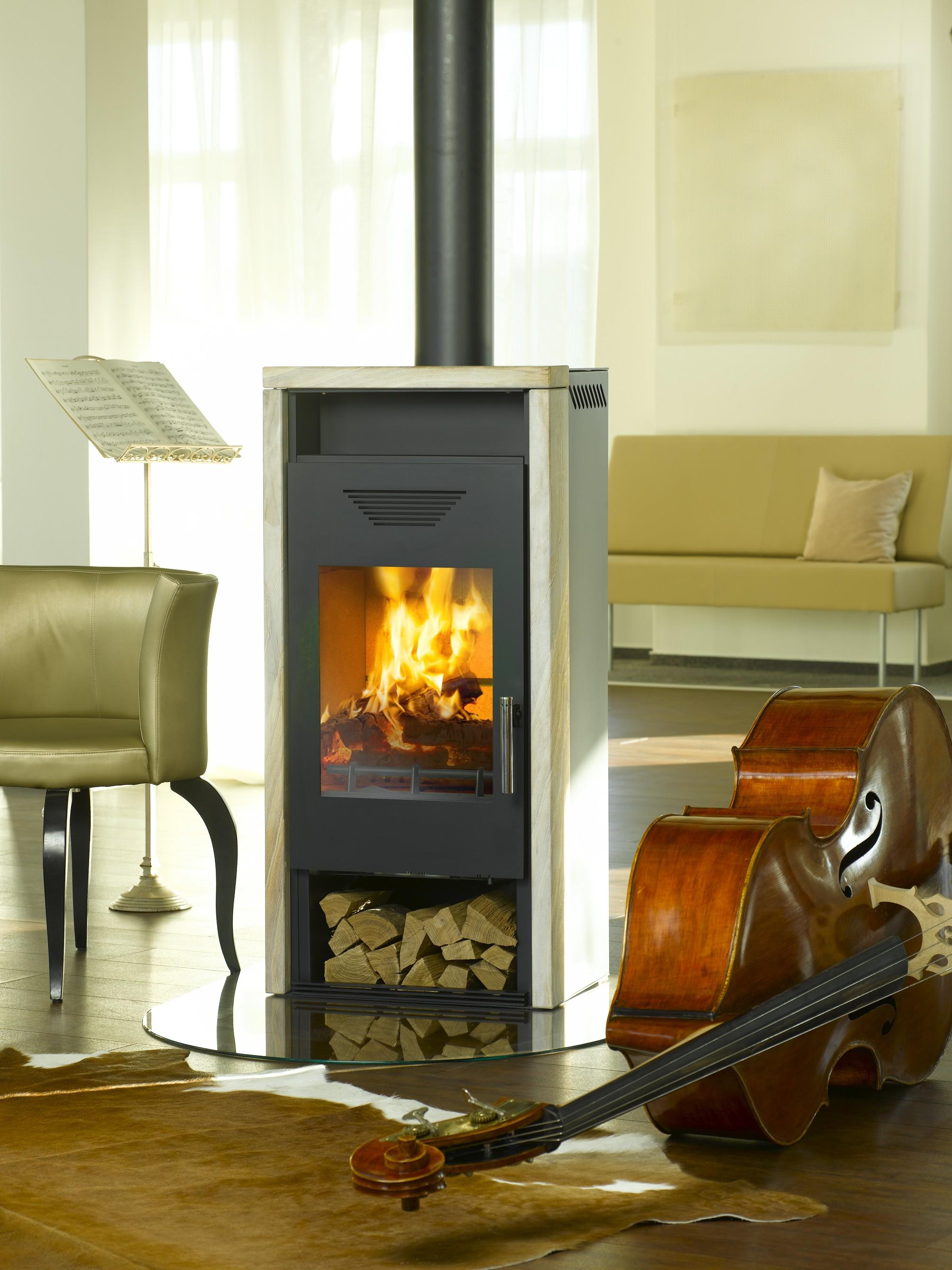 kaminofen wamsler kf 111 yara stahl sandstein 6 kw bei. Black Bedroom Furniture Sets. Home Design Ideas