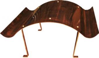 Kamindach Kupfer 70x67cm Bild 1