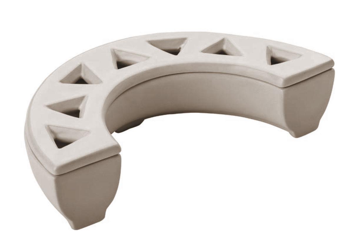 Luftbefeuchter / Benta Aufstellverdunster Kaminofen Keramik weiß Bild 1