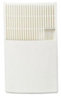 Luftbefeuchter / Benta Flachverdunster Kunststoff weiß 17x28x3cm Bild 1