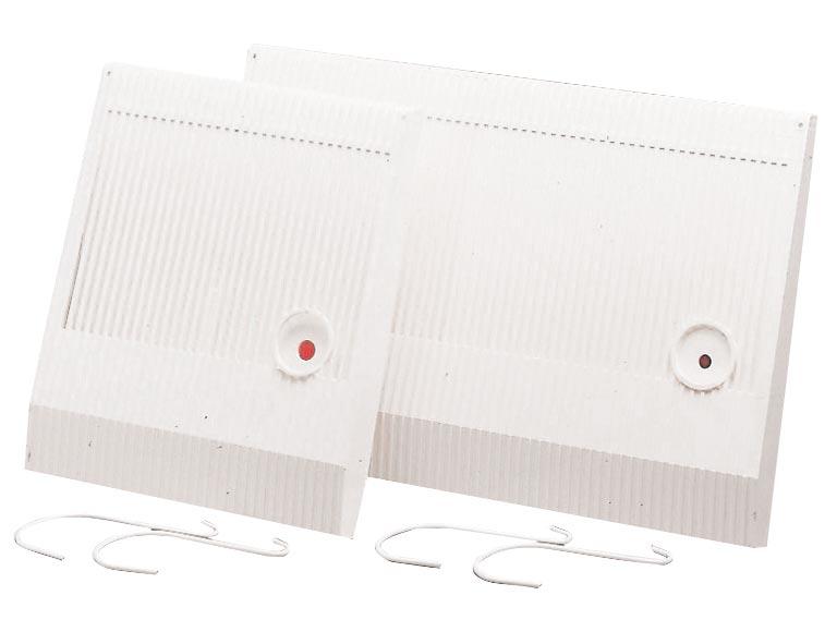 Luftbefeuchter / Benta Flachverdunster weiß 27x31x4cm Bild 1