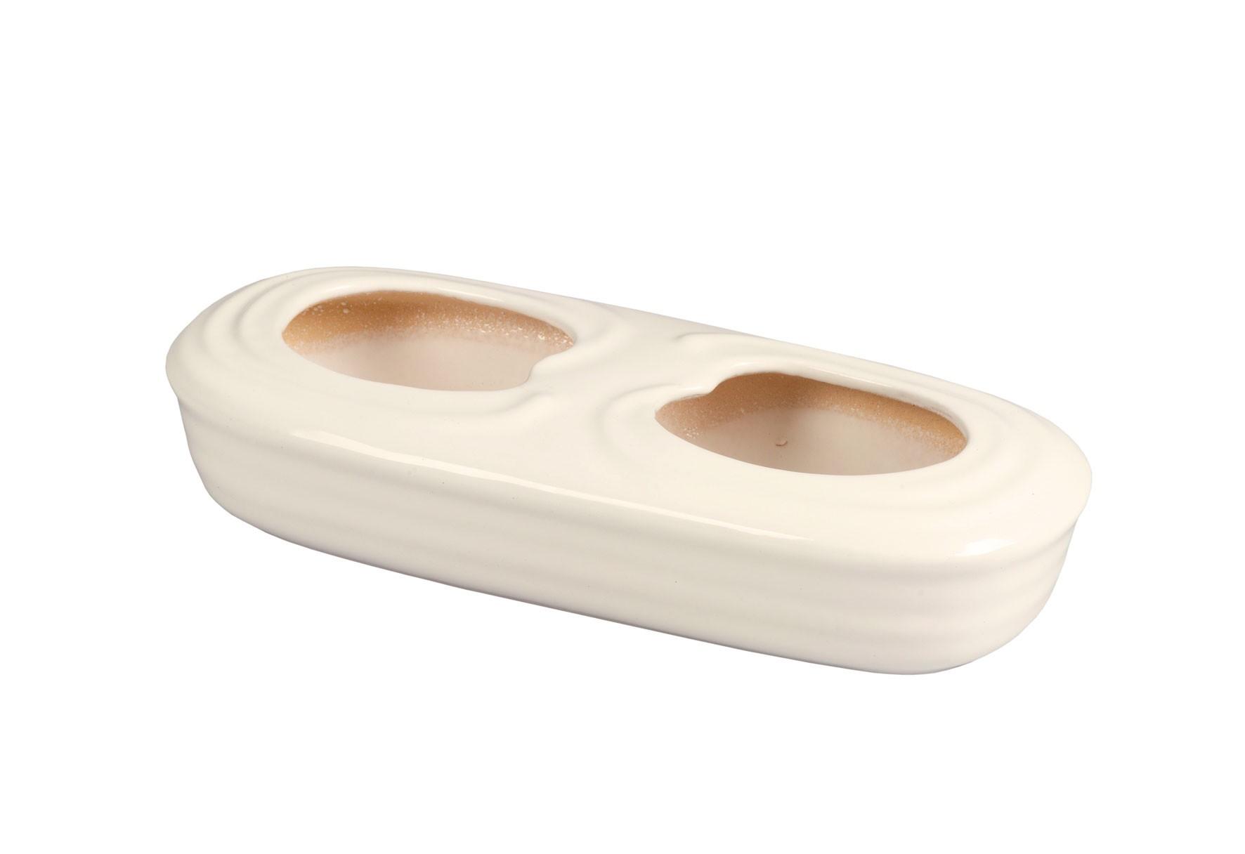 Luftbefeuchter / Verdunster Benta Keramik beige 1000 ml Bild 1