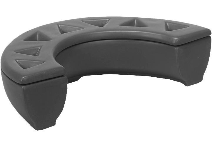 Luftbefeuchter / Verdunster Keramik Metrox für Kaminöfen schiefergrau Bild 1