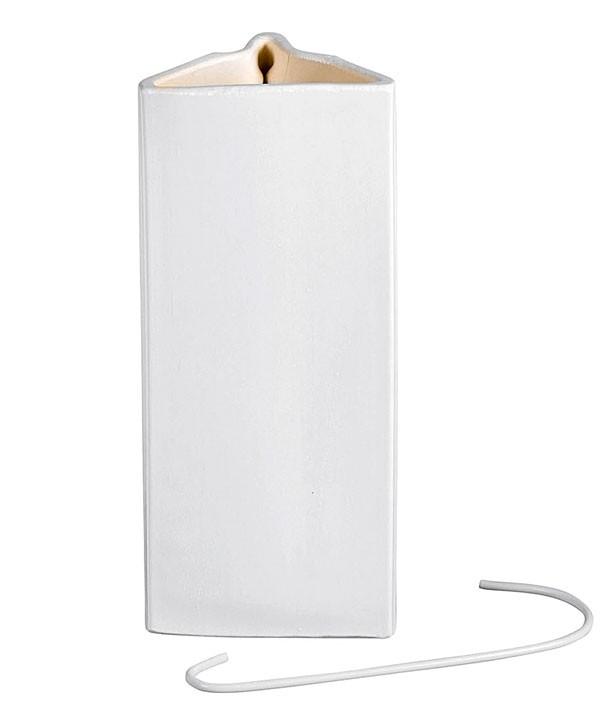 luftbefeuchter verdunster keramik wei 400ml bei. Black Bedroom Furniture Sets. Home Design Ideas