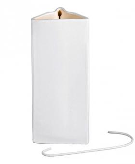 Luftbefeuchter / Verdunster Keramik weiß 400ml Bild 1