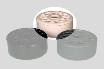 Luftbefeuchter / Verdunster Lienbacher Keramik beige Bild 1