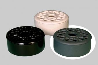 Luftbefeuchter / Verdunster Lienbacher Keramik grau Bild 1