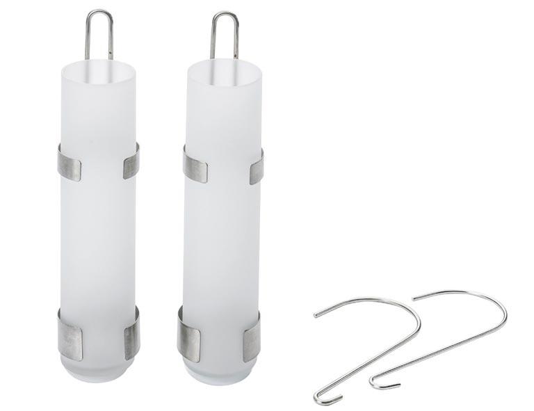 Luftbefeuchter / Wasserverdunster Benta Glas-Röhrenverdunster 2er-Set Bild 1