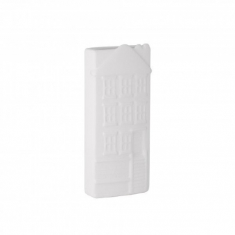 Verdunster / Heizkörperverdunster KaminoFlam Keramik Haus 8,6x19,9cm Bild 1