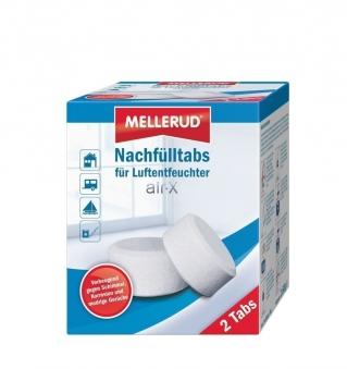 MELLERUD air-X Nachfülltabs für Luftentfeuchter 2 x 500g