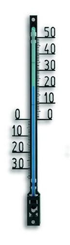 Innenthermometer / Außenthermometer Filigranthermometer schwarz Bild 1
