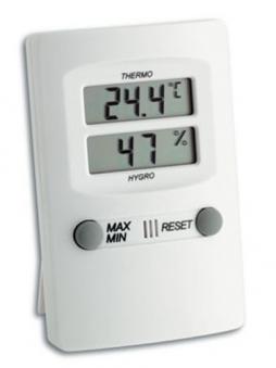 Thermometer / Hygrometer Innenraum digital Bild 1