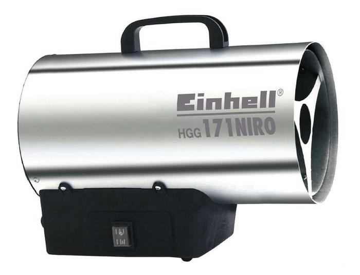 Gasheizer / Gasheizgerät Heißluftgenerator HGG 171 Niro Einhell 17 kW Bild 1