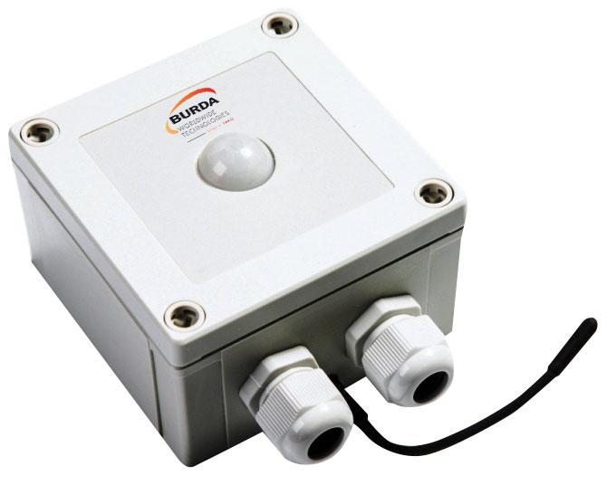 Burda BPIR4 Bewegungsmelder mit Temperatursensor 4 kW weiß Bild 1