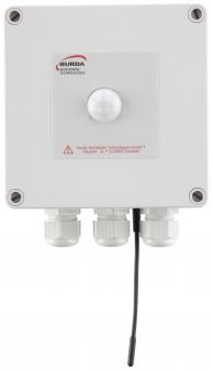 Burda BPIR6 Bewegungsmelder mit Temperatursensor 6 kW weiß Bild 1
