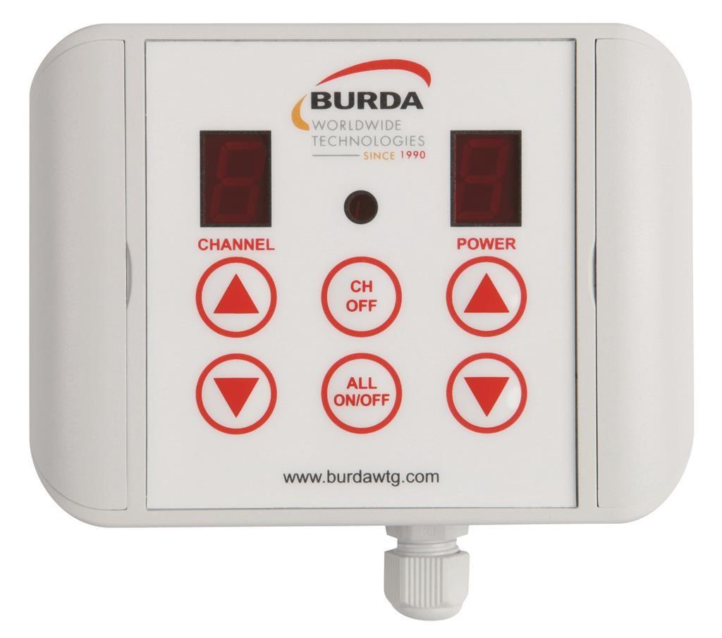 Burda Dimmer Controller BH IP65 3 Zonen BHC6003-ER weiß 6,0 kW Bild 3