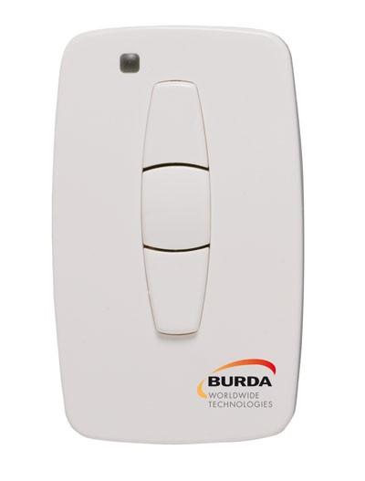 Burda Handsender / Funk Sender solo für Infrarot Heizstrahler weiss Bild 1
