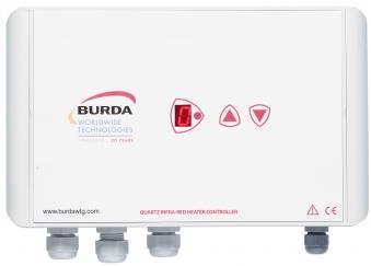 Burda Infrarot-Kurzwellenheizstrahler Controller Dimmer BHC4001 weiss