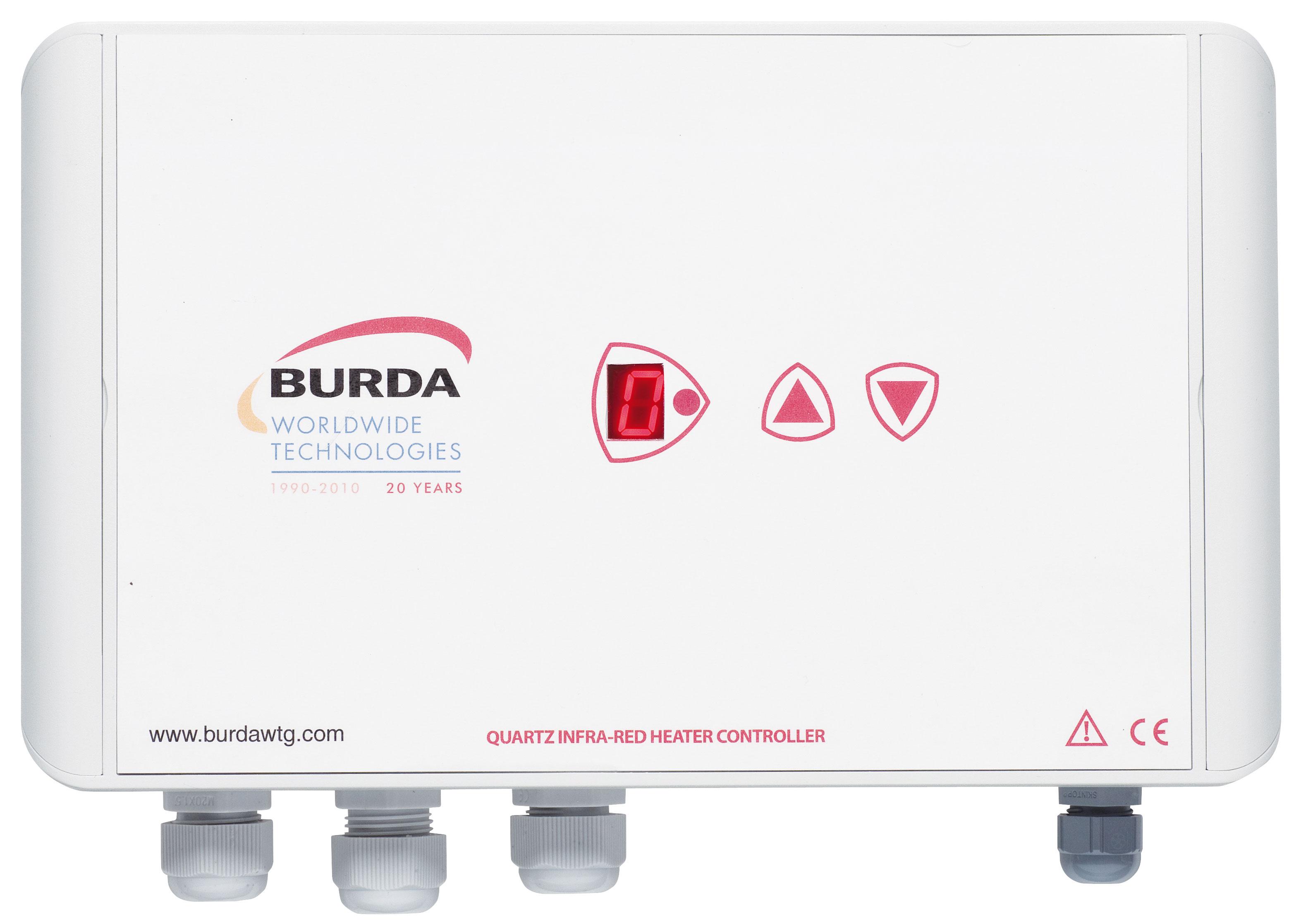 Burda Infrarot-Kurzwellenheizstrahler Controller Dimmer BHC4001 weiss Bild 1