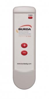 Burda Infrarot Fernbedienung Kurzwellenheizstrahler BHCR1 weiß