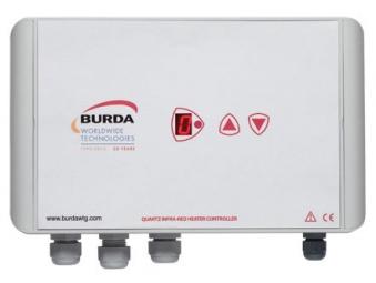 Burda Infrarot-Kurzwellenheizstrahler Controller Dimmer BHC6001 weiss Bild 1