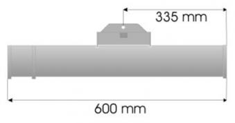Burda Infrarot Heizstrahler TERM2000 IP67 1,65 kW Bild 2
