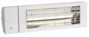 Burda Infrarot Kurzwellen Heizstrahler SMART IP24 LG weiß 2 kW Bild 1
