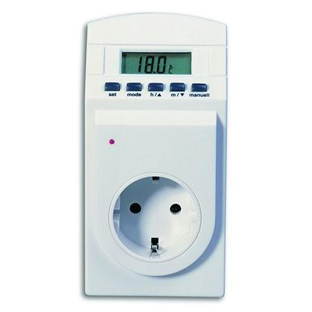 Steckdosen-Thermotimer / Thermostat gross Bild 1