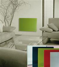 Infrarotheizung Fenix GR500-G gelbgrün 90x60x1,2cm 500 Watt Bild 2