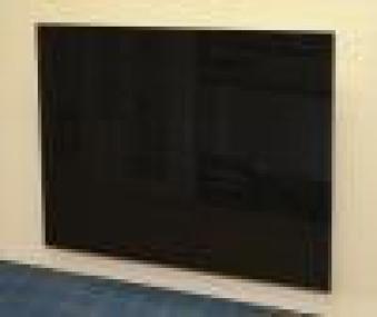 Infrarotheizung Fenix GR500-S schwarz 90x60x1,2cm 500 Watt Bild 1