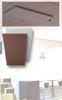 Infrarotheizung Fenix GR900-R rot 120x80x1,2cm 900 Watt Bild 3