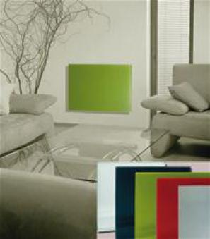 Infrarotheizung Fenix IWH-100 slim weiß 32x32x1,2cm 100 Watt Bild 2