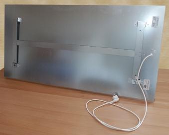 Infrarotheizung Fenix weiß 119x59x3cm 750 Watt Bild 2