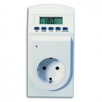 Steckdosen-Thermotimer / Thermostat gross