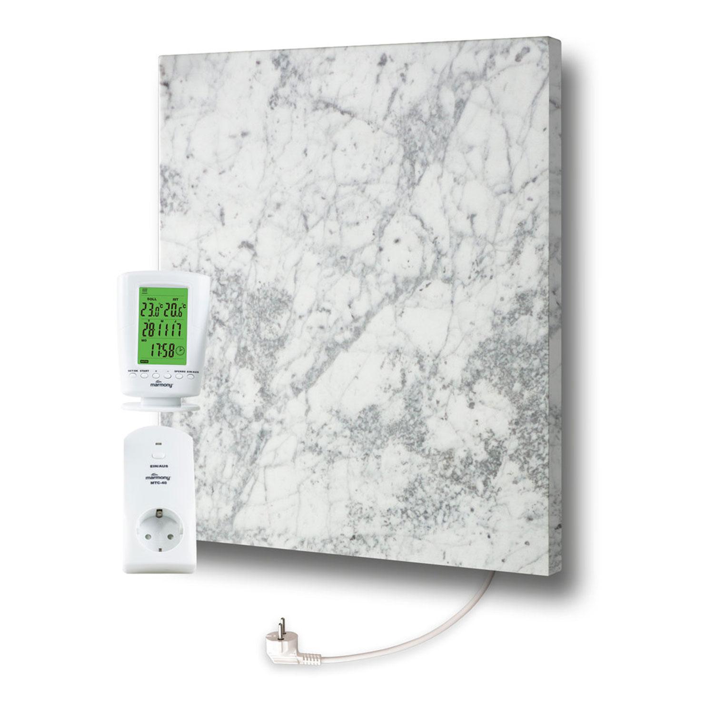 Marmony Infrarotheizung C480 PLUS Carrara mit Thermostat 500W Bild 1