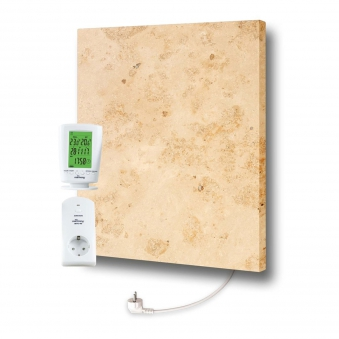 Marmony Infrarotheizung M500 PLUS Jura mit Thermostat 500 Watt Bild 1