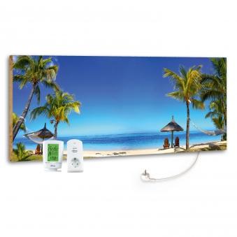 Marmony Infrarotheizung M800 PLUS Beach + Thermostat 800W Bild 1
