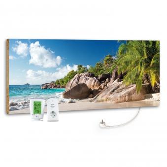 Marmony Infrarotheizung M800 PLUS Blue Lagoon + Thermostat 800W Bild 1