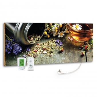 Marmony Infrarotheizung M800 PLUS Flower Table + Thermostat 800W Bild 1
