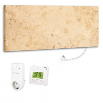 Marmony Infrarotheizung M800 PLUS Jura + Thermostat Set 800 Watt Bild 1